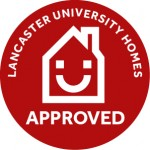 LU Homes Accreditation Mark Red Artwork